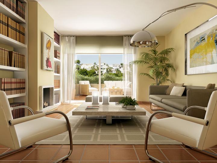 Interiores Salones. Finest Excellent Ideas Decoracion De Interiores ...