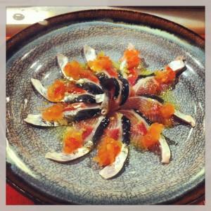 Gastroeconomy_CasaMarcelo_Junio2013_Sardina de Rianxo con tomate y jengibre