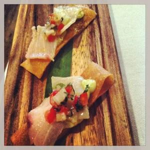 Gastroeconomy_PuntoMX_2013_Aperitivo de ceviche de marlin