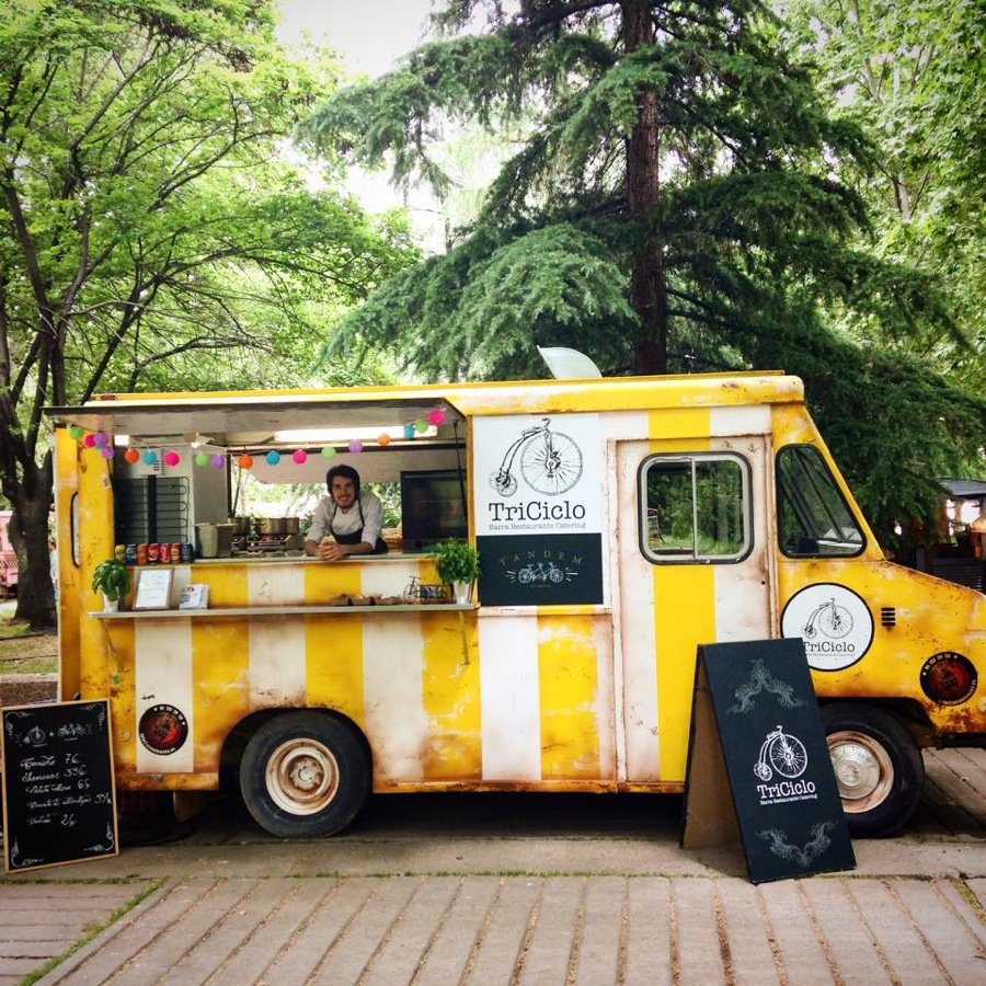 FOOD TRUCK DEL TRICICLO EN MADREAT